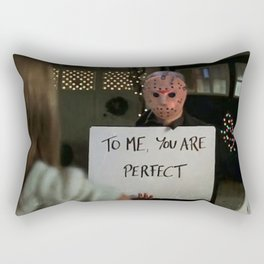 JASON VORHEES IN LOVE ACTUALLY Rectangular Pillow