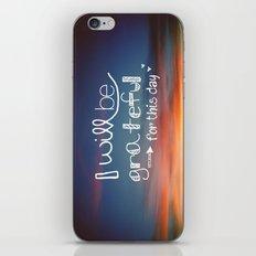 grateful iPhone & iPod Skin