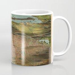 Map Of Newark 1916 Coffee Mug