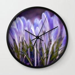 Ultra Violet Sound Wall Clock
