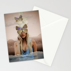 Butterfly Face Stationery Cards