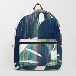 Magic Monstera Leaves Backpack