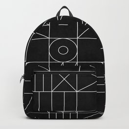 My Favorite Geometric Patterns No.9 - Black Backpack