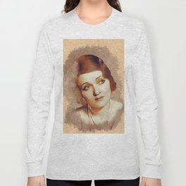 Constance Bennett, Hollywood Legend Long Sleeve T-shirt