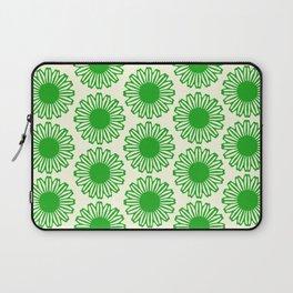 vintage flowers green Laptop Sleeve
