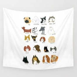 DOG FRIEND Wall Tapestry
