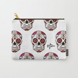 Sugar Skull - white Carry-All Pouch