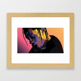 90210 Framed Art Print