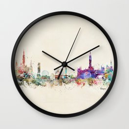glasgow scotland Wall Clock