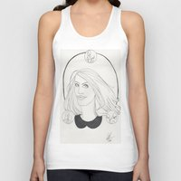 lydia martin Tank Tops featuring Lydia by Wolfhearted