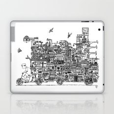 Busy City – On Your Bike Laptop & iPad Skin