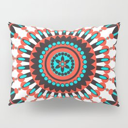Native American Mandala Pillow Sham
