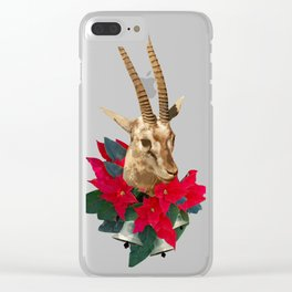 Reindeer Clear iPhone Case