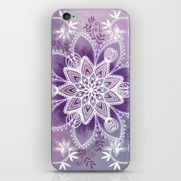 Happiness Purple iPhone Skin