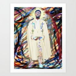 Ancestor spirit - chadwick Art Print