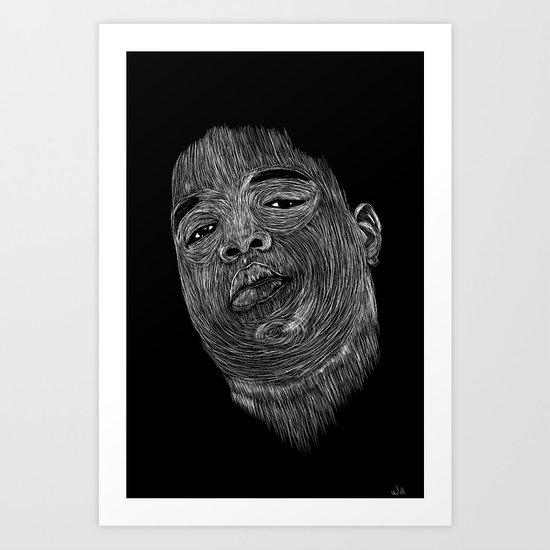 Biggie ( Notorious Big ) Art Print