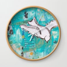 Fly Home Wall Clock