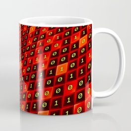 Bits pattern Coffee Mug