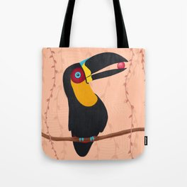 Channel-Billed Toucan Tote Bag