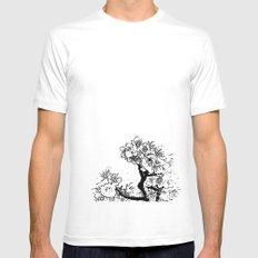 Cherry Blossom #7 Mens Fitted Tee White MEDIUM