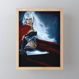 I Double Dare You... Framed Mini Art Print