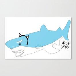 KittyShark! Canvas Print