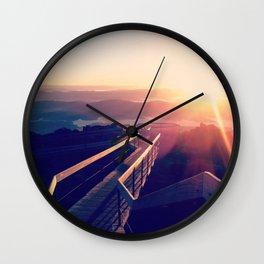 Tasmanian Sunrise Wall Clock