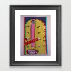 j520. Framed Art Print