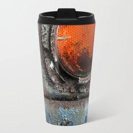 caution {deconstruction series Travel Mug