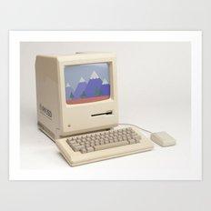 CompuSpace A Art Print