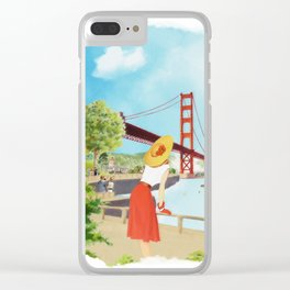San Francisco + Los Angeles Clear iPhone Case