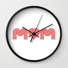 Love Mum/Mom Wall Clock