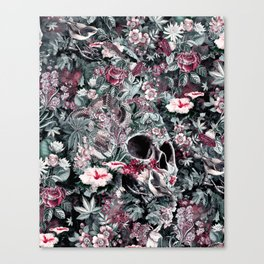 Skull Forest Canvas Print