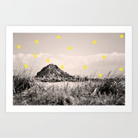 monkey island Art Prints featuring Island by the penny drops