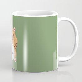 Hamster and Flower Coffee Mug
