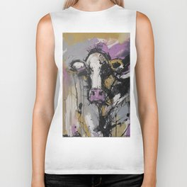 New Breed Cow 1 Biker Tank