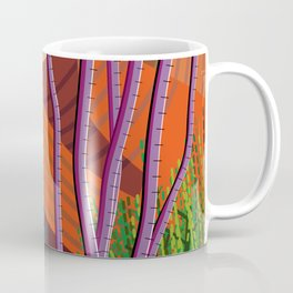 Cactus on Mountaintop Coffee Mug