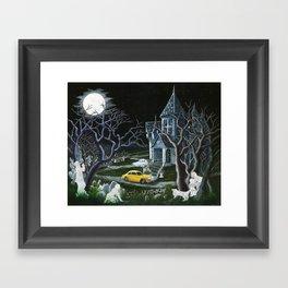 Haunted Inheritance Framed Art Print
