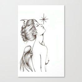 Memento Vivere, Memento Mori Canvas Print