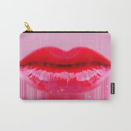 Kiss my Lips Carry-All Pouch