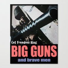 Let Freedom Ring Canvas Print