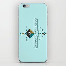 My Mind Is My Kingdom iPhone Skin