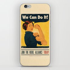 Leia the Riveter 2: The Alliance Strikes Back iPhone & iPod Skin