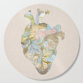 A Traveler's Heart (N.T) Cutting Board