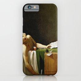 Jacques-Louis David's The Death of Marat iPhone Case