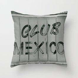 Club Mexico Throw Pillow