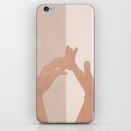 Come with Me iPhone Skin