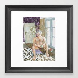 Headress Framed Art Print