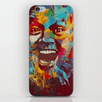 jack nicholson iPhone & iPod Skins featuring jack nicholson  by zarna