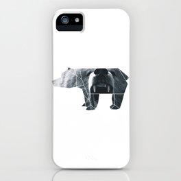 ORIGAMI BEAR iPhone Case